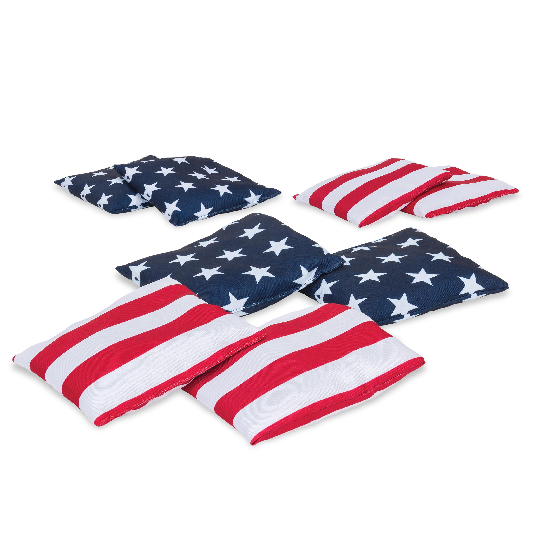 Rec Tek Stars And Stripes Bean Bags
