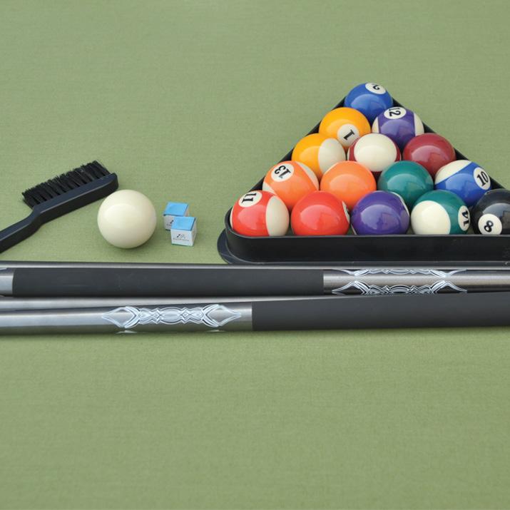 87 In Ourdoor Billiard Table Wicker