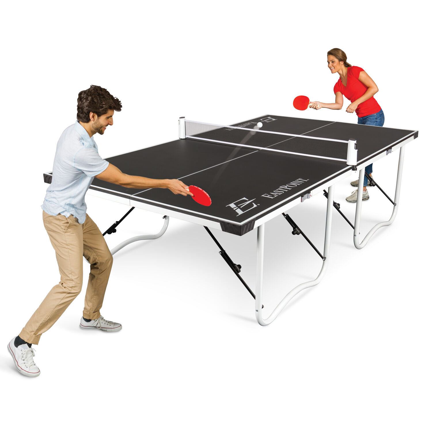 Fold 'N Store Table Tennis Table - 15mm by EastPoint Sports